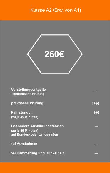 Klasse A2 (ERw von A1) farbig